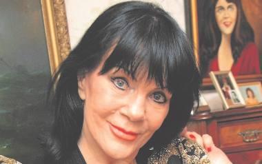 Izabella Skrybant-Dziewiątkowska z Tercetu Egzotycznego