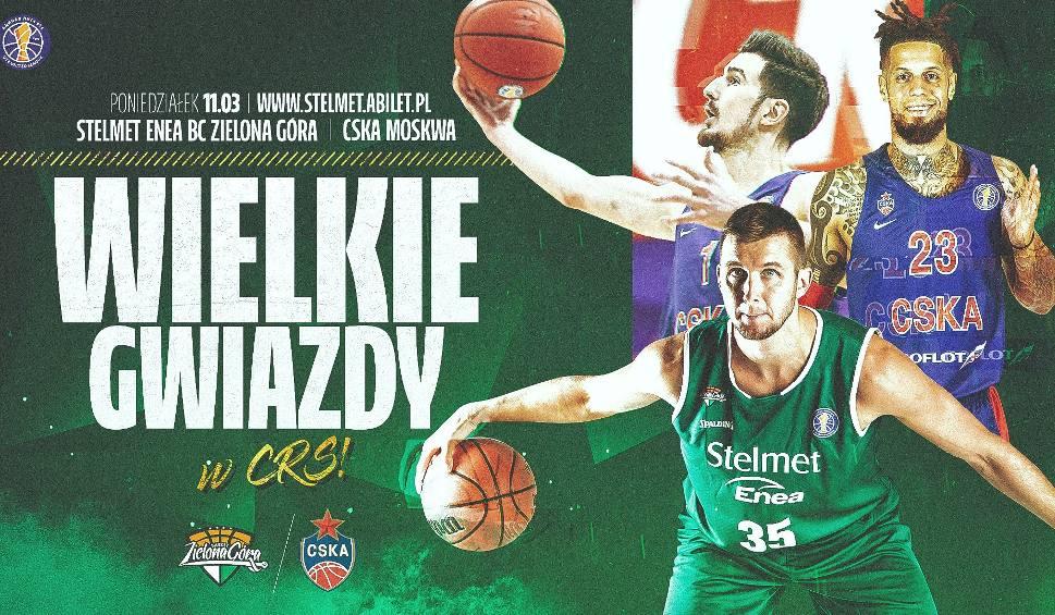 Film do artykułu: Już od wtorku można kupować bilety na mecz Stelmet Enea BC Zielona Góra - CSKA Moskwa