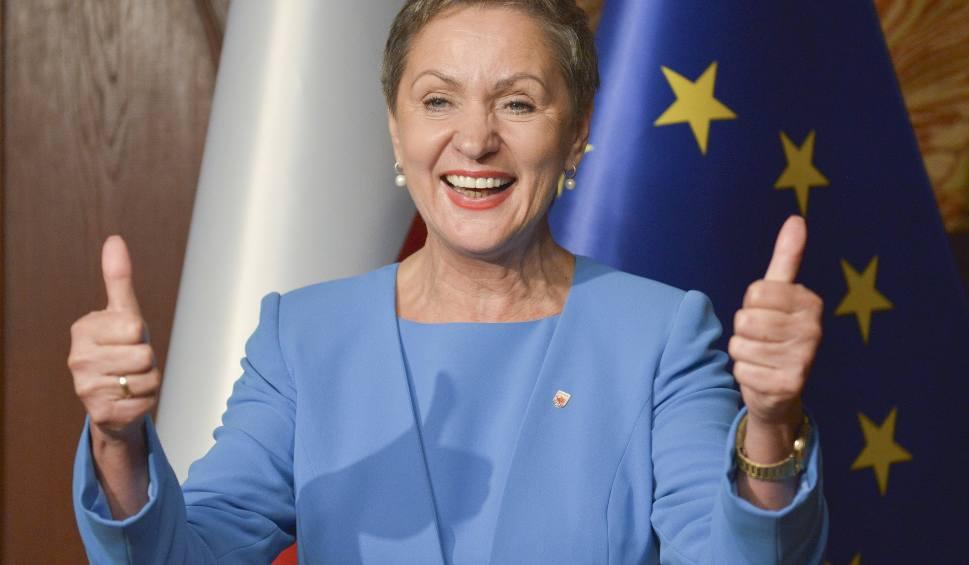 Film do artykułu: Oficjalnie Krystyna Danilecka-Wojewódzka prezydentem Słupska
