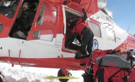 Akcja ratunkowa w Tatrach. Wypadek w okolicy Świnicy