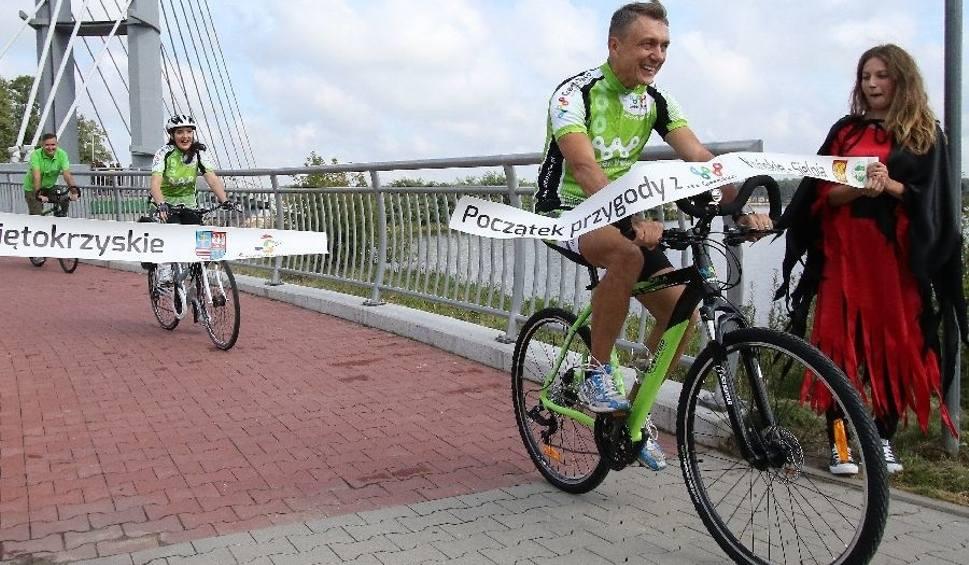 Film do artykułu: Inauguracja szlaku Green Velo w Sielpi [WIDEO, zdjęcia]