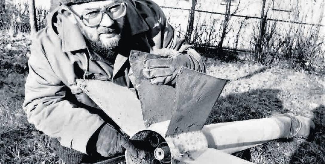 Wykonanie znalezionej przez Mariusza Zielonkę rakiety raczej prymitywne, ale ich hitlerowskim konstruktorom chodziło zapewneo sprawdzenie dysz i siły