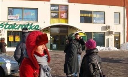 Ewakuacja centrum handlowego