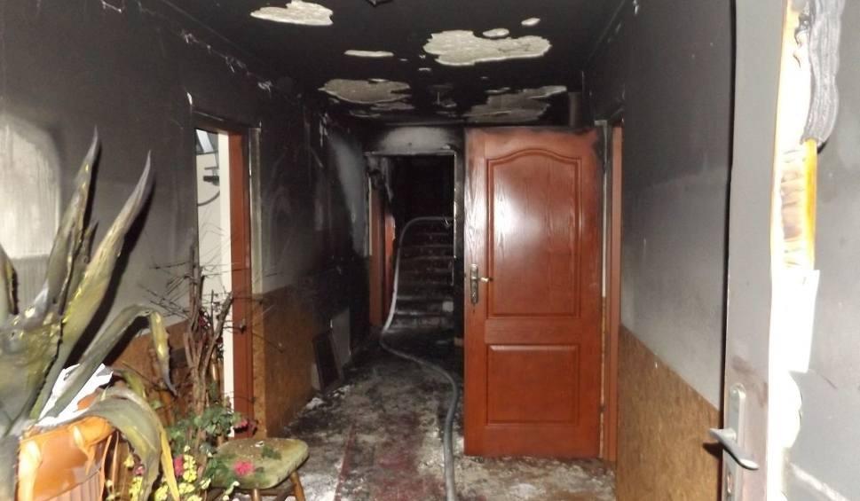 Film do artykułu: Pożar w hotelu w gminie Masłów. To było podpalenie?