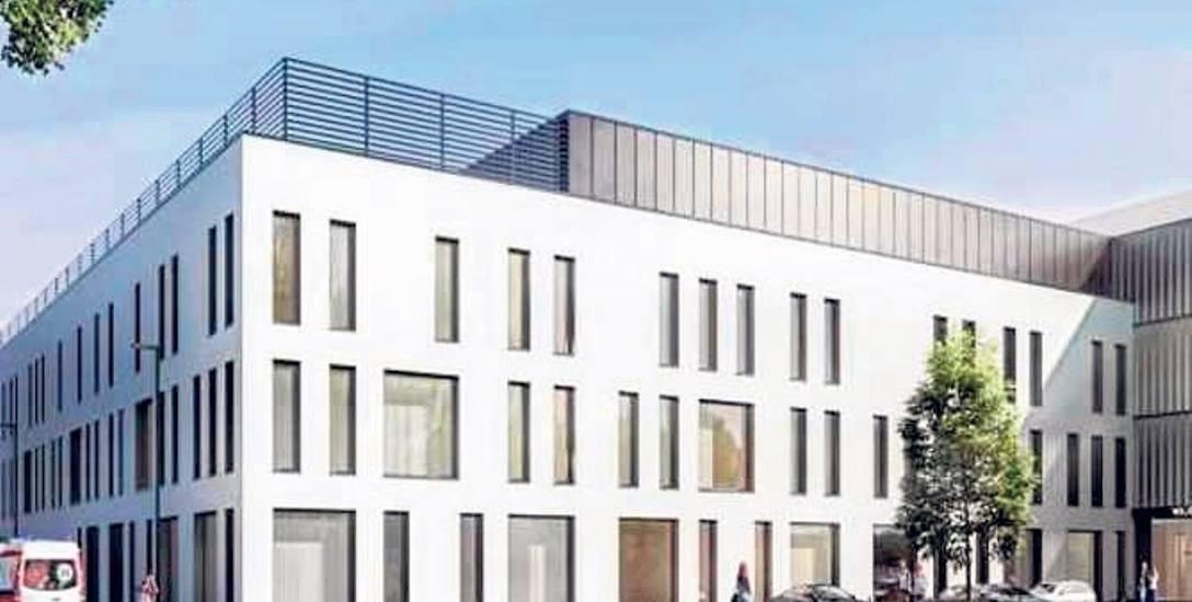 Inwestycja planowana jest do 2024 roku. Zdjęcie przedstawia, jak może wyglądać Podkarpackie Centrum Zdrowia Dziecka