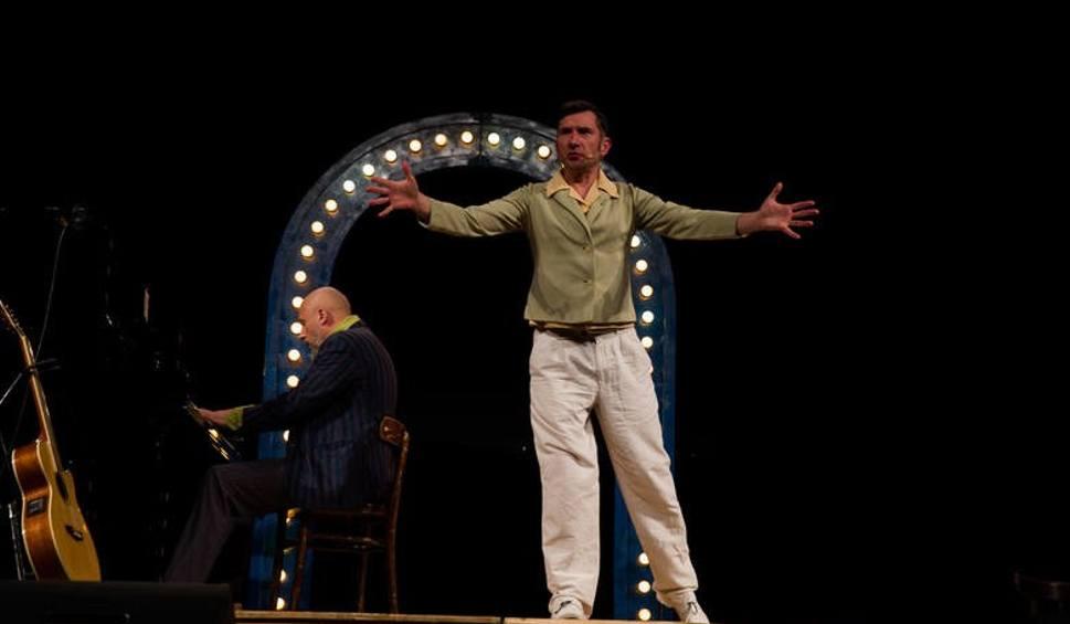 Film do artykułu: Gość Porannego: Mumio! Legenda z występem w Teatrze Dramatycznym