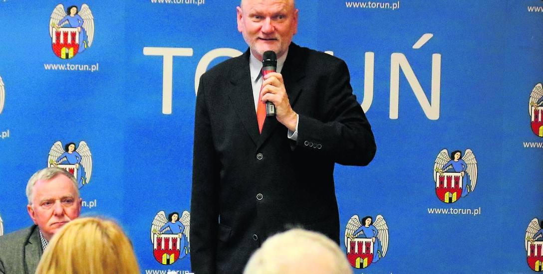 W tym roku podczas spotkań prezydenta Torunia z mieszkańcami będzie czas na rozmowy i pracę w grupach.