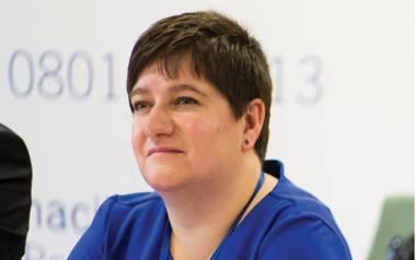 Joanna Sarosiek, dyrektor Departamentu Rozwoju Regionalnego Urzędu Marszałkowskiego Województwa Podlaskiego, funduszami unijnymi zajmuje się od 10 l