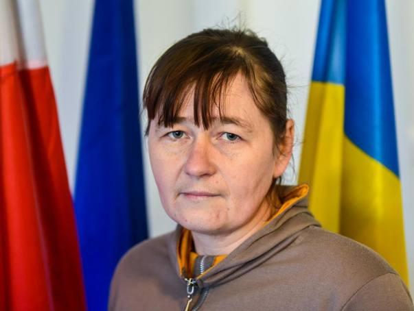 Natalia Kozanchyn, siostra Oksany, także pracowała u Jędrzeja C.