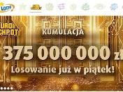 LOSOWANIE EUROJACKPOT WYNIKI NA ŻYWO [EUROJACKPOT WYNIKI 2.02.2018]. Dzisiaj można wygrać 375 mln zł!