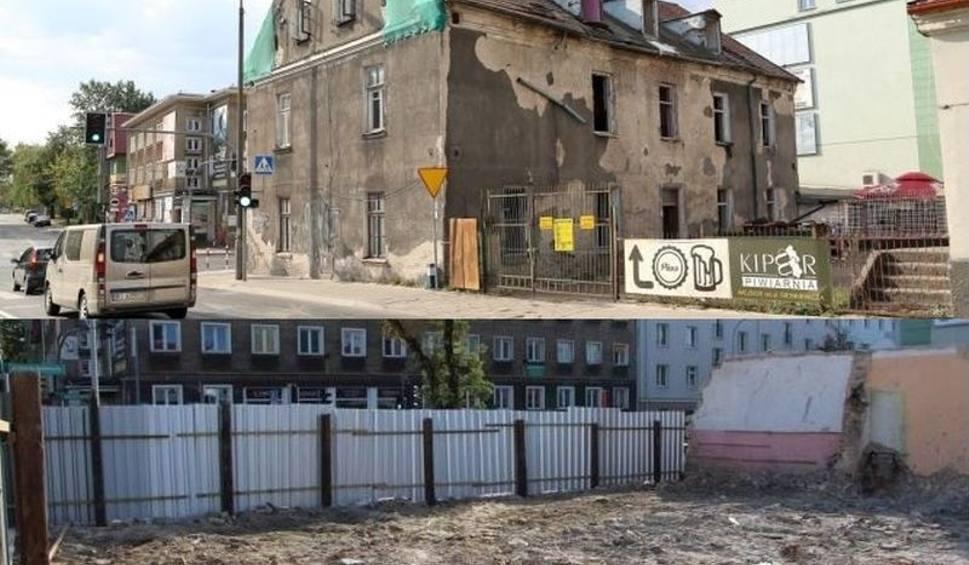Film do artykułu: Białystok. Kamienica przy ul. Sienkiewicza 55 rozebrana (zdjęcia, wideo)