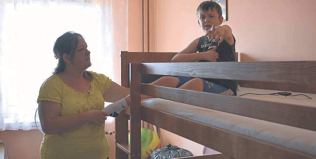 Pani Małgorzata toczy bitwę o jak najlepsze warunki życia dla swoich dzieci. Niestety przed nią jeszcze wiele trudnych chwil.