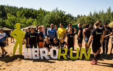 Bieg Hero Run w Ogrodniczkach
