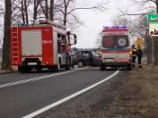 Wypadek w miejscowości Jastrzębiec.