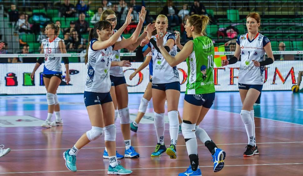 Film do artykułu: Bank Pocztowy Pałac Bydgoszcz znowu wygrał [zdjęcia kibice + mecz]