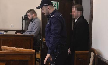 Mowy końcowe w procesie dotyczącym afery Amber Gold [19.04.2019]. Na sali obecny był Marcin P., Katarzyna P. nie pojawiła się na rozprawie w gdańskim