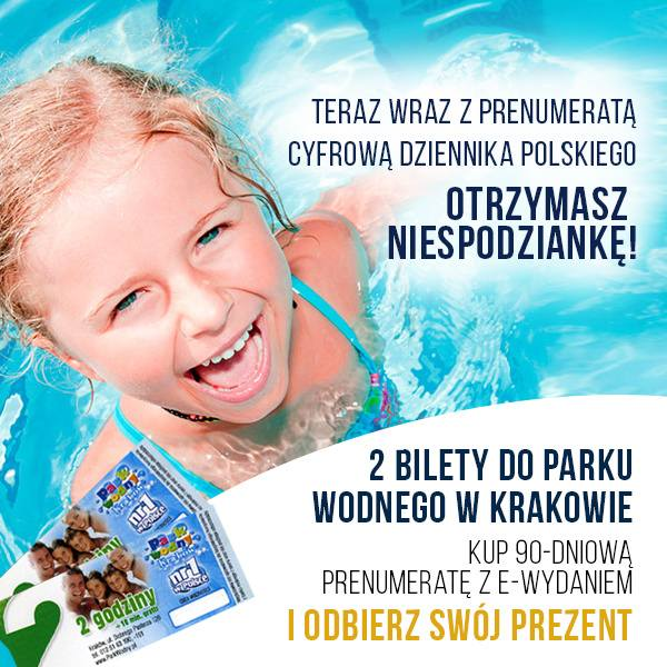 Bilety do Aqua Parku w Krakowie!