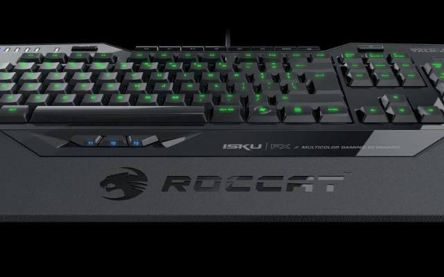 Roccat Isku FX: Kiedy trafią Twój czołg, zaświeci się na czerwono