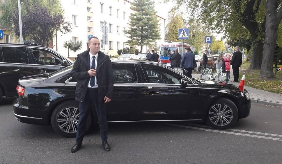 Film do artykułu: Oświęcim. Wypadek z udziałem kolumny prezydenta Dudy. Dziecko w szpitalu [Aktualizacja]