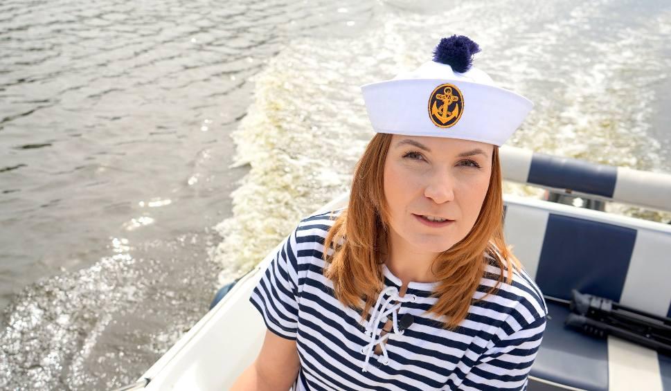 Film do artykułu: TU BYŁAM odc. 34. Kasia Kapusta chciała zostać kapitanem w gliwickiej Marinie