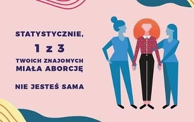 """""""Miałaś aborcję? Nie jesteś sama"""" - ruszyła społeczna kampania informacyjna dotycząca aborcji w Polsce"""