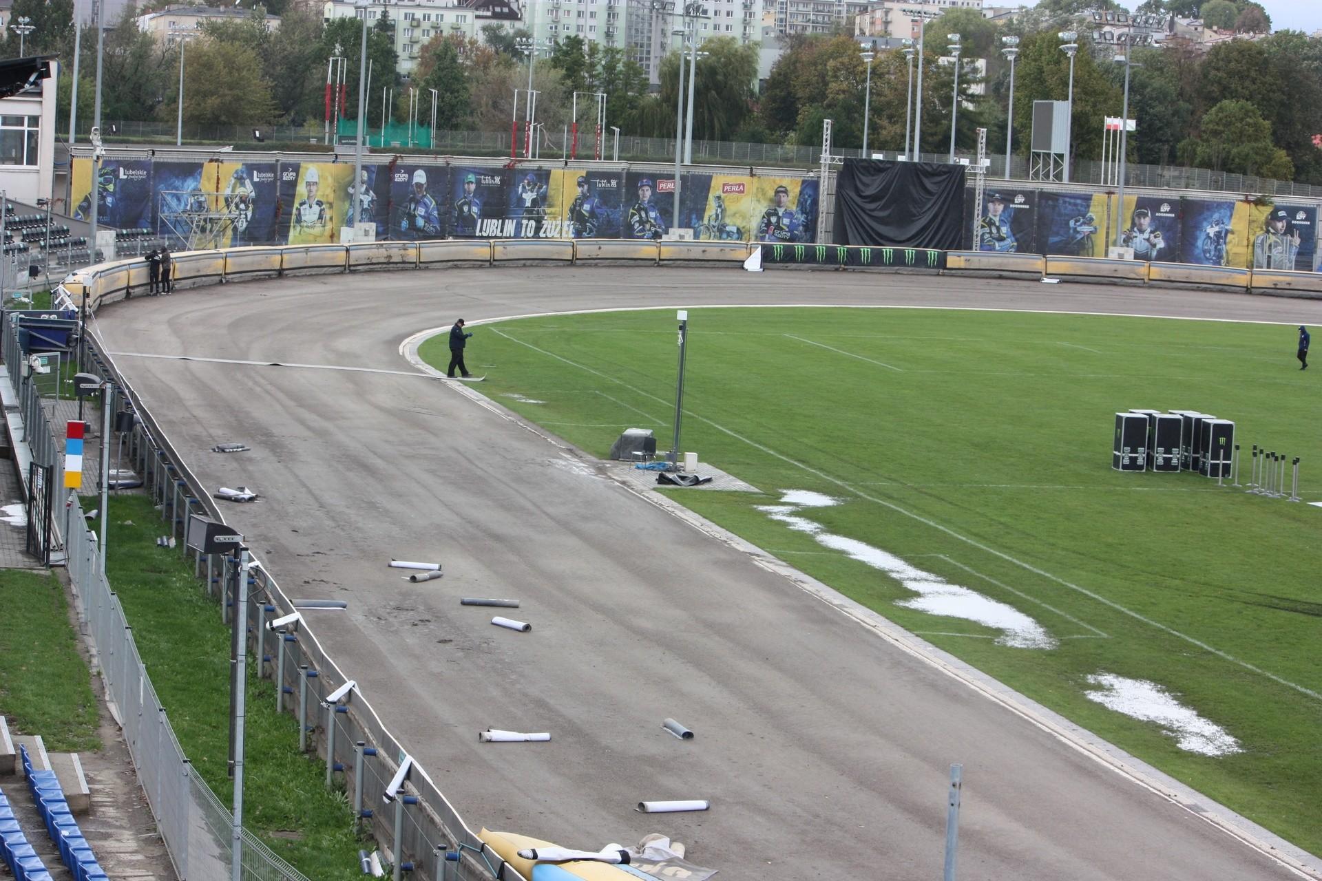 Przygotowują stadion w Lublinie do zawodów Speedway of ...