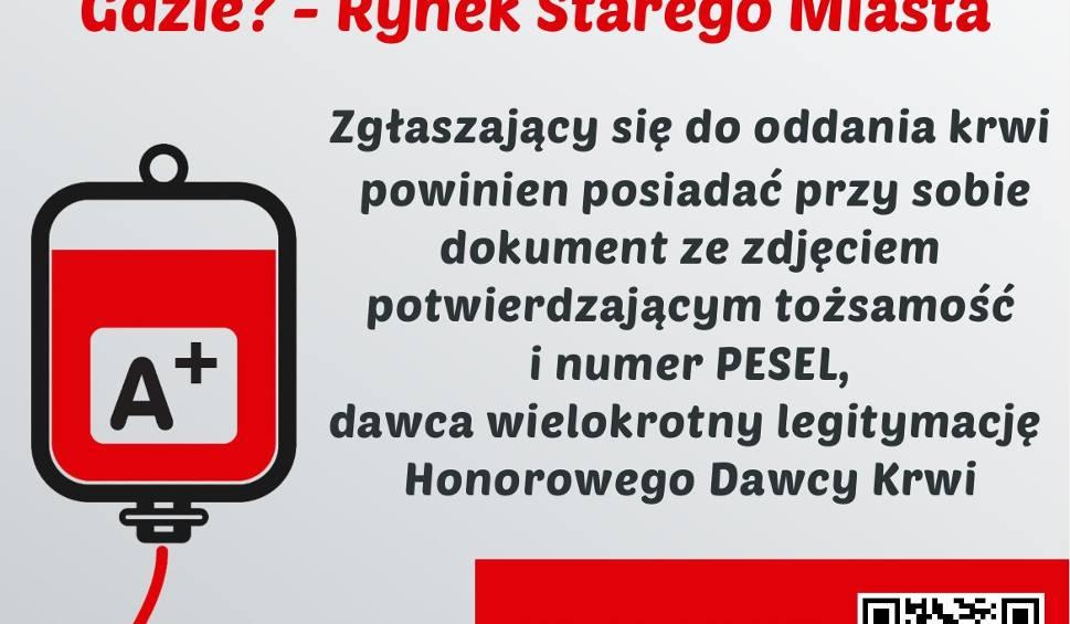 """Film do artykułu: """"450 ma znaczenie - zbiórka krwi w Sandomierzu"""" - zaprasza młodzież z Collegium Gostomianum"""