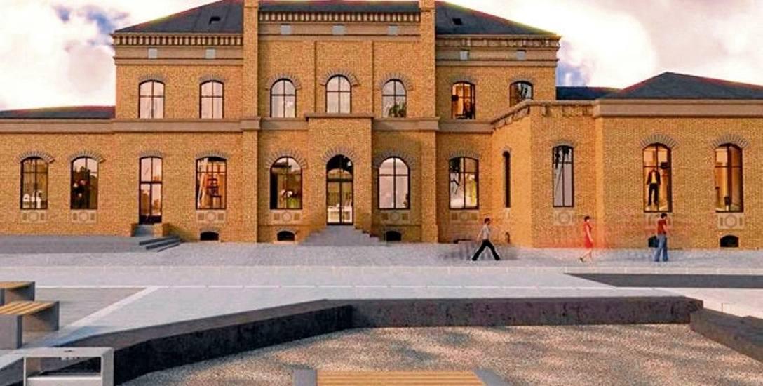 Tak po kompleksowej przebudowie ma wyglądać dworzec kolejowy w Starogardzie Gdańskim