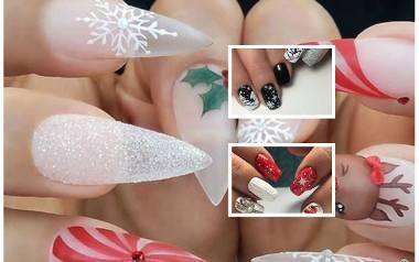 Paznokcie świąteczne: modne wzory i inspiracje. Manicure na Boże Narodzenie. Świąteczne wzorki na paznokcie DIY