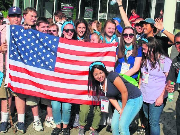 Uczestnicy Światowych Dni Młodzieży są zaskoczeni życzliwym przyjęciem, jakie spotkało ich w naszym regionie. Odwdzięczają się uśmiechem i radością