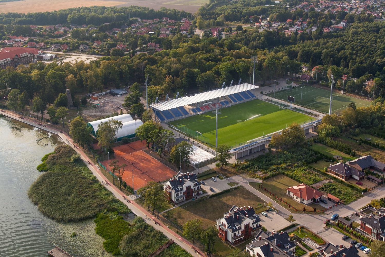 Zadbane i nowoczesne stadiony w niższych ligach