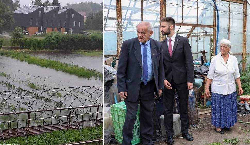 Film do artykułu: Osiedlowcy z Krzekowa i Bezrzecza w Szczecinie powołali komisję przeciwdziałania powodzi. Zbierają relacje poszkodowanych