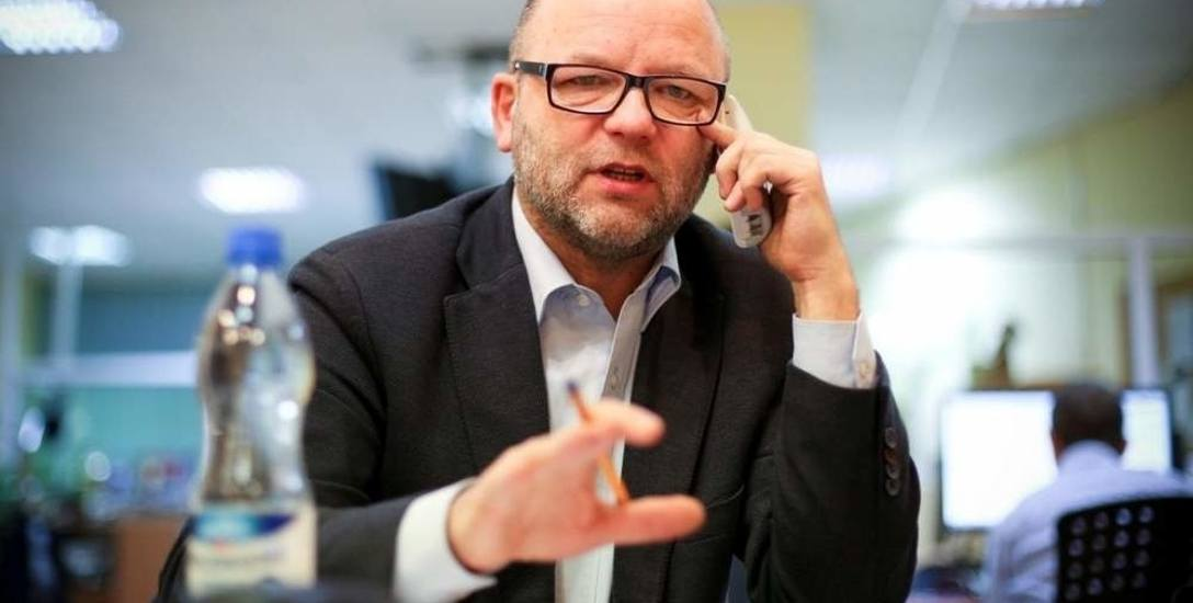 Marek Biernacki w poniedziałek opowiadał o zabiegach dotyczących włączenia węzła komunikacyjnego w Ustce do MOF