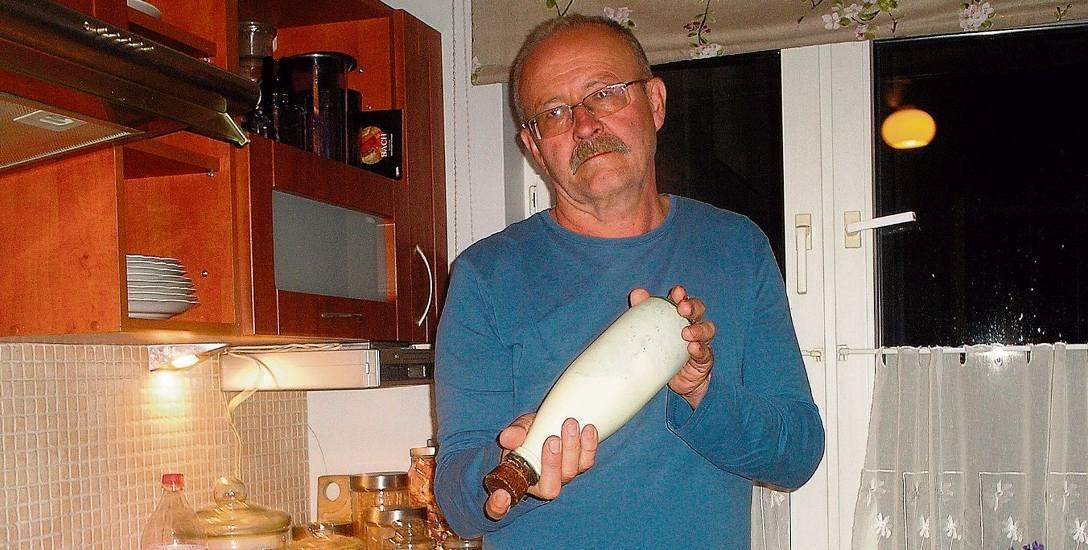 Zrobiliśmy masło  z wiejskiego mleka