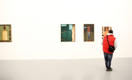 Wystawę malarstwa Jerzego Nowosielskiego w Atlasie Sztuki mogliśmy obejrzeć w 2015 roku.