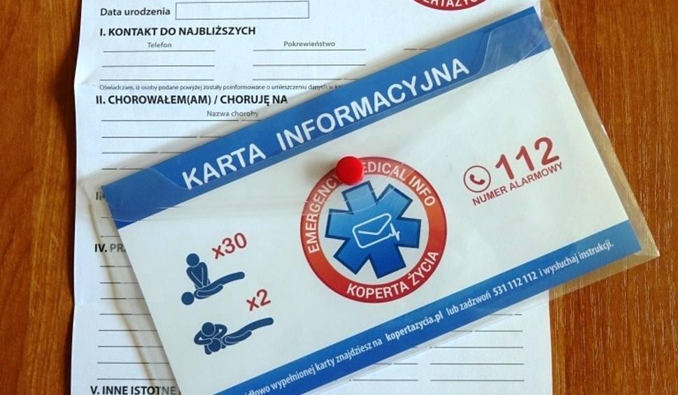 """Film do artykułu: Akcja """"Koperta Życia"""" rusza w Skarżysku. Dostanie je 500 seniorów - już można się zgłaszać!"""