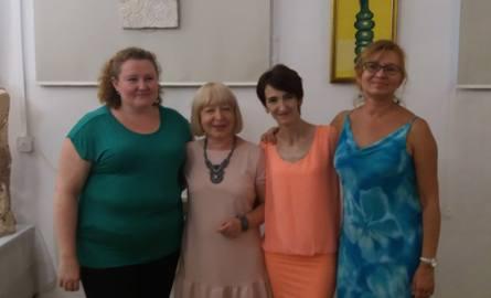 Wystawa prac zdolnych radomianek w Łaźni przy ulicy Żeromskiego