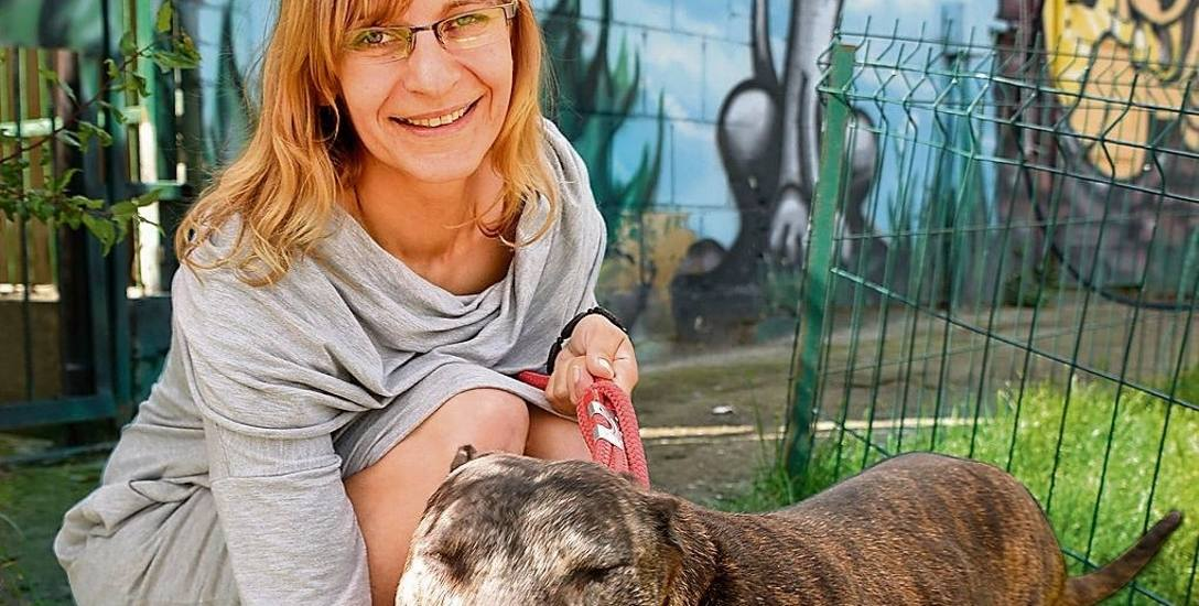 Anna Jaroszewicz jest nie tylko szefową białostockiego schroniska, ale kieruje również Towarzystwem Opieki nad Zwierzętami