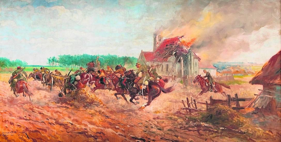 Leonard Winterowski, Scena z wojny polsko-bolszewickiej