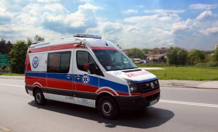 DK 75. Zderzenie dwóch samochodów, sześć osób rannych
