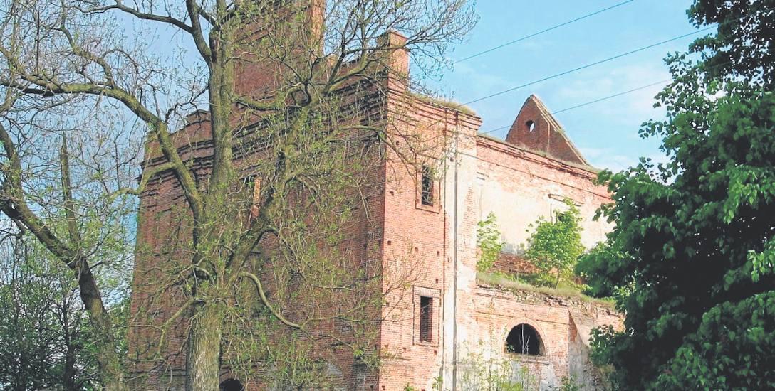 Ruiny kościoła w Kisielinie na Wołyniu. To tutaj rozegrał się dramat 11 lipca 1943 roku, który urósł do rangi symbolu