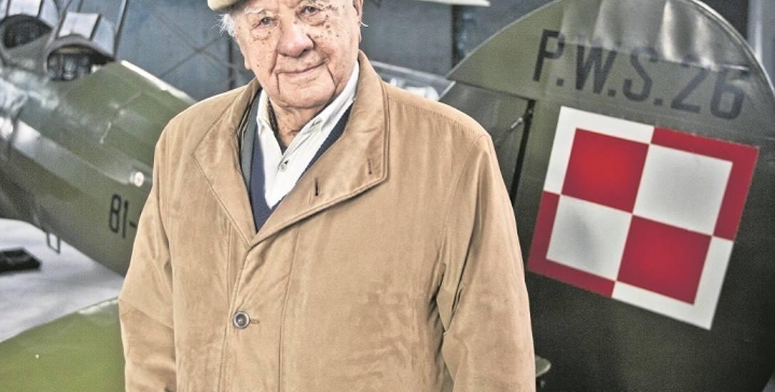 Sto lat życia Ludwika Krempy, pilota, który na Wyspach walczył o Polskę
