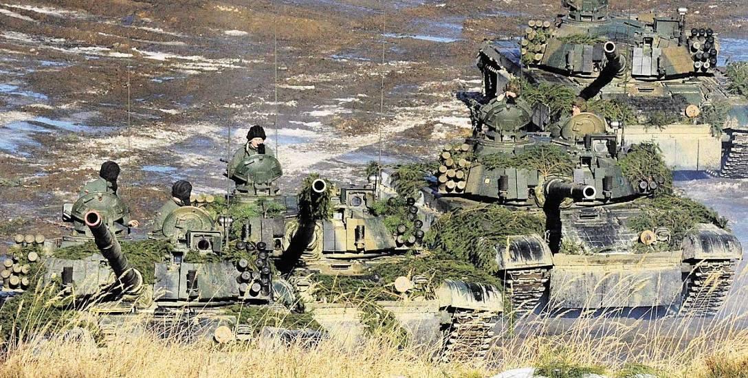 Załogi czołgów Leopard 2A6 i PT-91 współdziałały wczoraj z transporterami opancerzonymi i śmigłowcami. Symulacja pola walki odbyła się na Punkcie Ćwiczeń