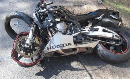 Tragiczny wypadek motocyklisty w Nowym Tomyślu