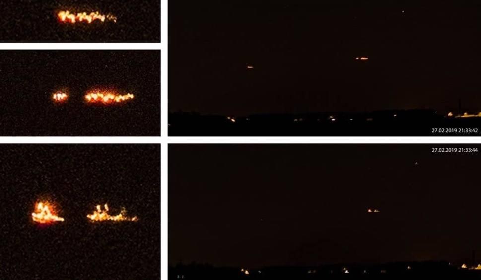 Film do artykułu: UFO na Mazowszu. Tym razem dziwne światła były widziane w Chojnowie (powiat przasnyski)