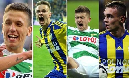 Oni mają szanse na grę w reprezentacji Polski? Piłkarze Lechii i Arki z ambicjami [SONDA]