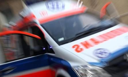 Wypadek na trasie poznańskiej pod Łowiczem