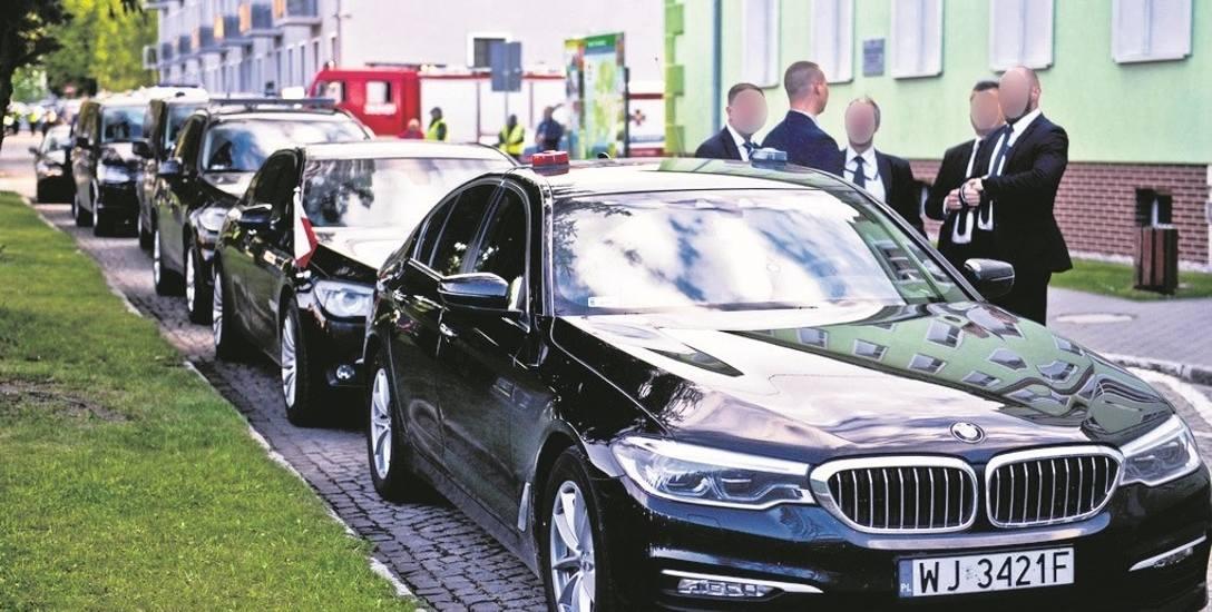 Kolizje na ulicach polskich miast z udziałem samochodów należących do Służby Ochrony Państwa stały się niemal codziennością