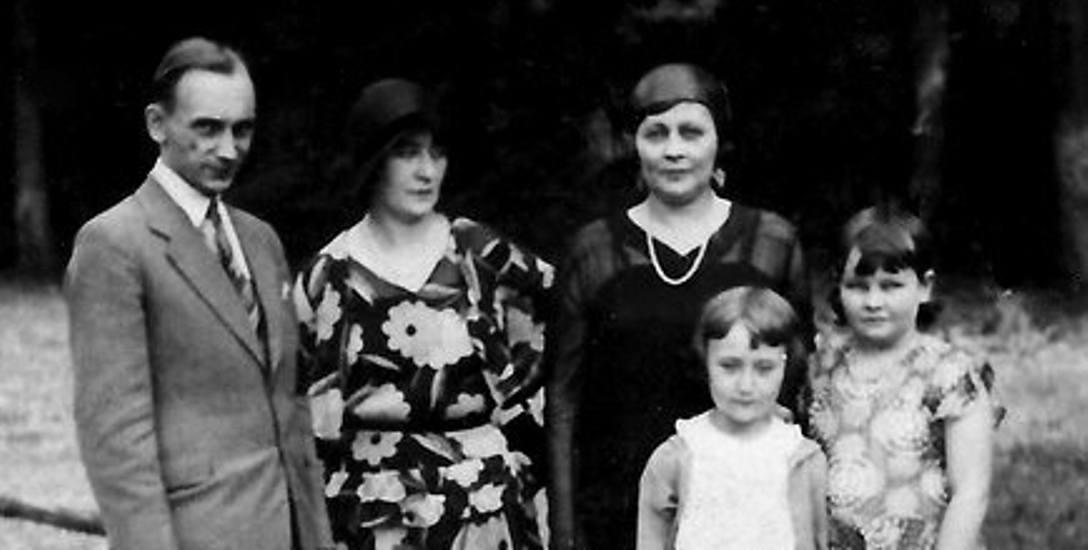 Władysław Pobóg-Malinowski z pierwszą żoną, Anną Marią Fijałek,  i córką (w środku) Ireną.  Ze zb. dr. Andrzeja Ruszczaka z Gdańska - siostrzeńca Po