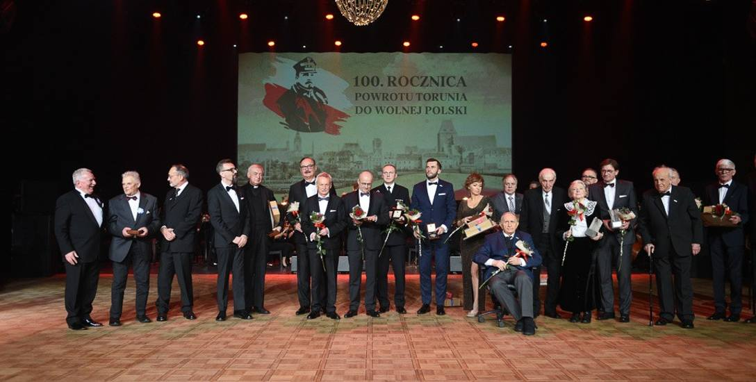 Ludzie sukcesu uhonorowani z okazji wielkiego jubileuszu Torunia